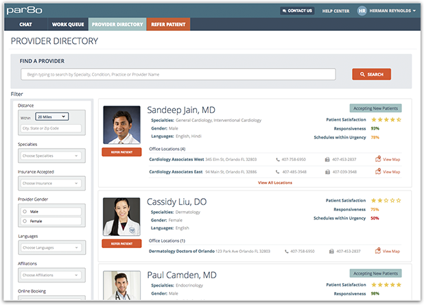 Searchable, Accurate Provider Directory